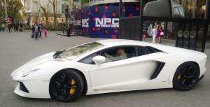 Luxusschlitten in Peking: Autogeld an der Börse verzockt.