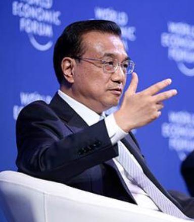 "Li Keqiang bei ""Sommer-Davos"" in Dalian."
