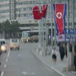 Straßenszene in Pjöngjang