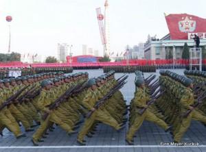 Militärparade in Pjöngjang