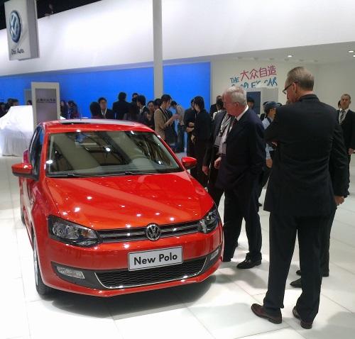 VWs Ex-Chef Martin Winterkorn auf der Automesse in Shanghai 2011: Betrug mit System. (Foto: fmk)