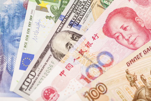 Yuan und Weltwährungen
