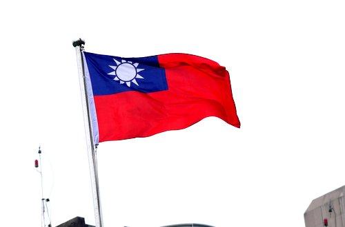 Taiwans Fahne weht über dem Yuan. Foto: fmk