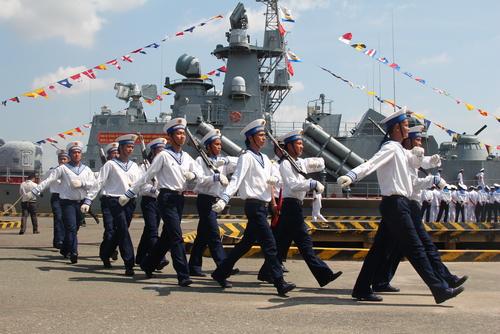 Vietnams Marine übt für den Fall chinesischer Übergriffe. Foto: Shutterstock