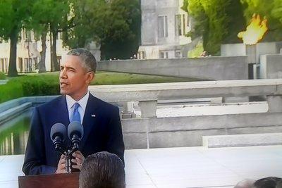 Obama spricht in Hiroshima